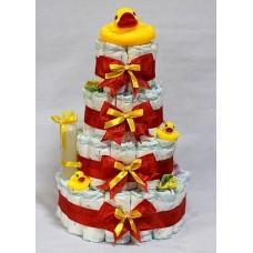 Торт из памперсов 2