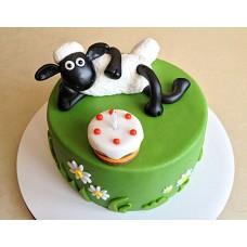 Торт Овечка