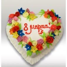 Торт 8 Марта