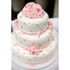 Торт Розовые нотки