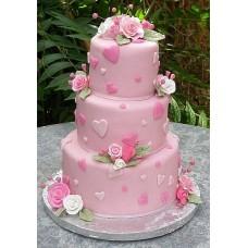 Торт Оттенки розового