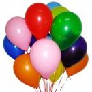 15 разноцветных шариков