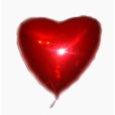 фольгированое сердечко