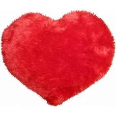 Подушка Сердце красное